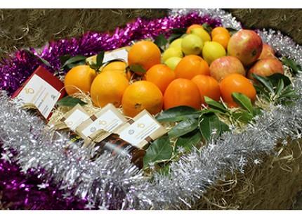 Cesta de Navidad Naranjamania 10kg