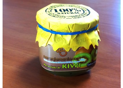 Confitures artisanales de kiwi extra 240 g