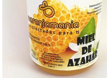Miel de fleurs d´oranger Naranjamania 500gr