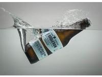 Bière artisanale Er Boqueron Avec eau de Mer . 33cl